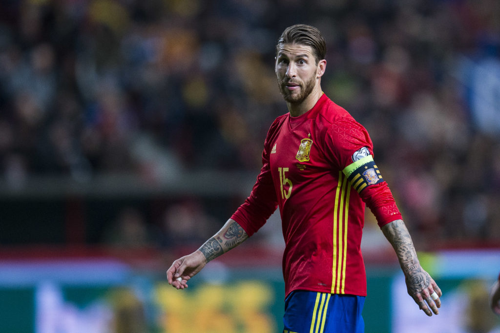 SERGIO RAMOS LEFT OUT OF SPAIN SQUAD, AYMERIC LAPORTE DRAFTED IN