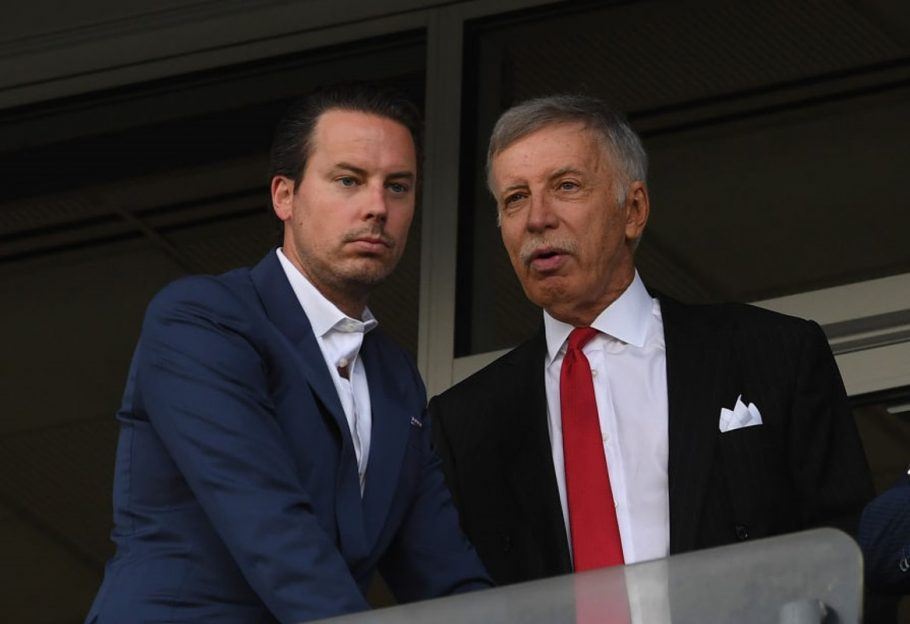 """STAN KROENKE TO """"BACK SIGNIFICANT SPENDING"""" AS BUENDIA TO ARSENAL RUMOURS INTENSIFY"""
