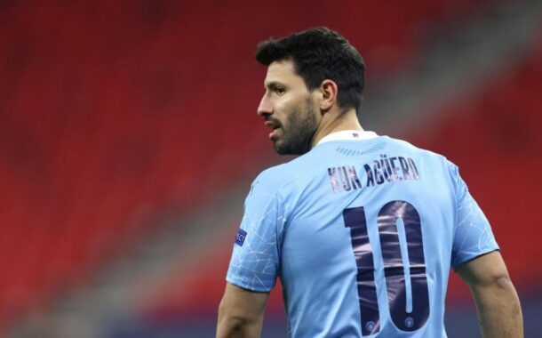 SERGIO AGUERO'S FATHER ACCUSES PEP GUARDIOLA OF FAKING TEARS FOR MAN CITY STAR